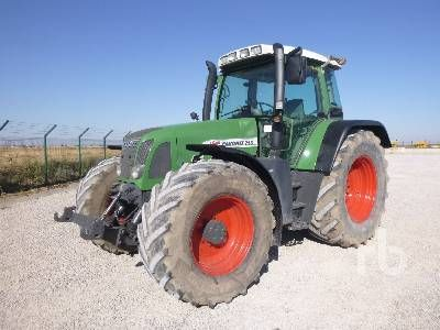 2000 FENDT FAVORIT 716 VAR MFWD Traktor