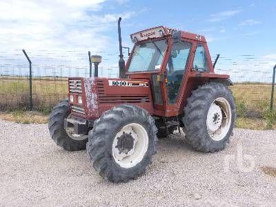 1985 FIAT 80-90SDT MFWD Traktor