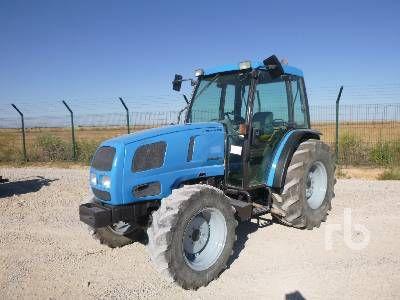 2001 LANDINI GLOBUS 75 MFWD Traktor