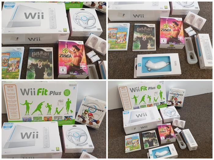 Nintendo Wii mit Zubehör