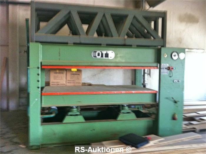 Heizplattenpresse OTT 300 K 120
