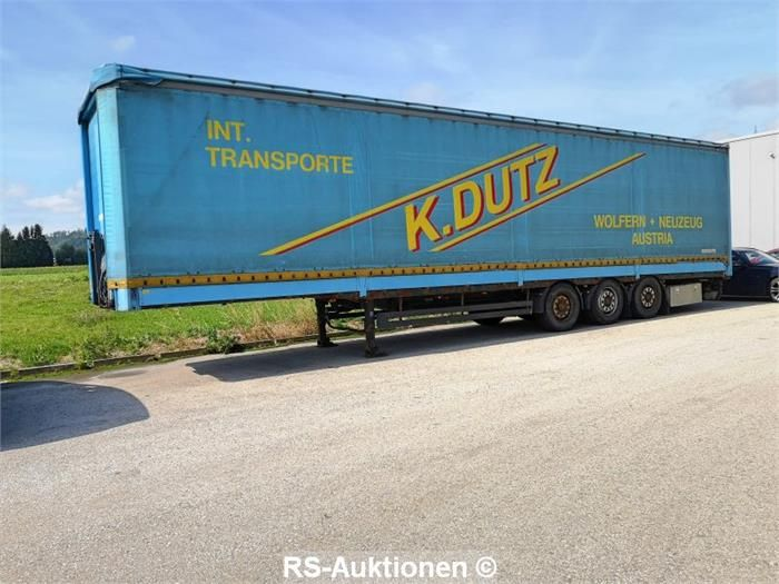 Sattelauflieger SCHWARZMÜLLER SPA 3/E, Fahrzeugident-Nr.: VAVSAP3383H185414
