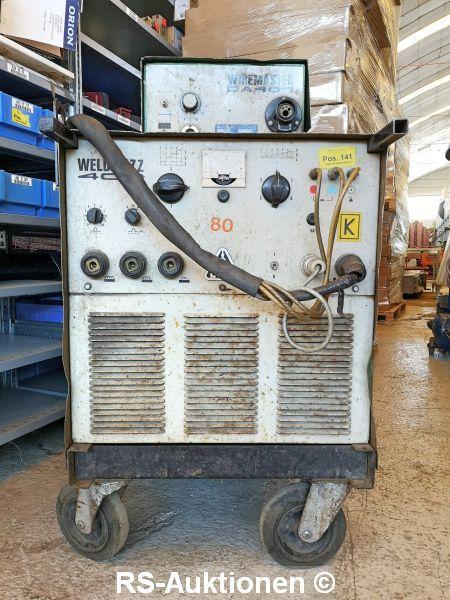 Schutzgasschweißgerät ELIN Wiremaster DA401
