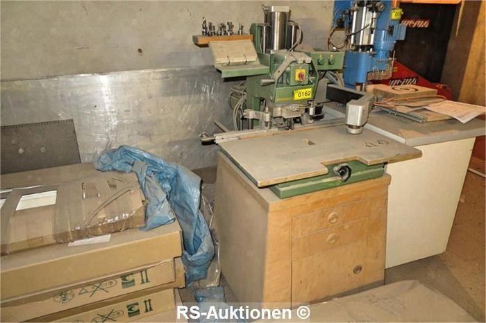 Bänder- und Reihenlochbohrmaschine GRASS BBM/ST, Bj: 1990