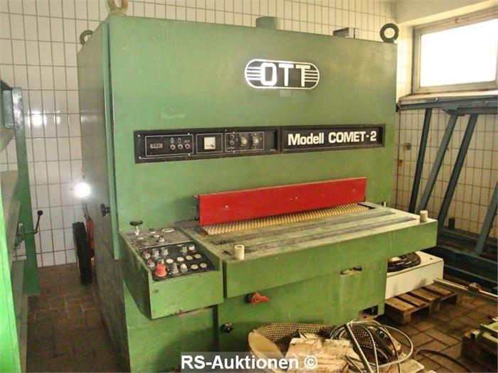 Breitbandschleifmaschine OTT Comet-2, Bj: 1986, 1100 mm SB, 2 Band