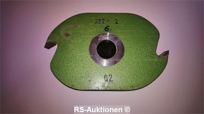 Schlitzscheibe HSS STEHLE, Z-2, 304 x 18 x 50 mm
