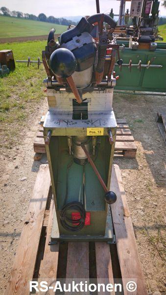 Entwässerungsschlitzfräse STRIFFLER 2791, Bj: 1981, 220 V, 6 A, 6 bar, Maschinen-Nr. 514