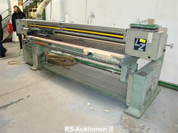 Bandschleifmaschine LANGZAUNER LZG-E, Bj: 1980
