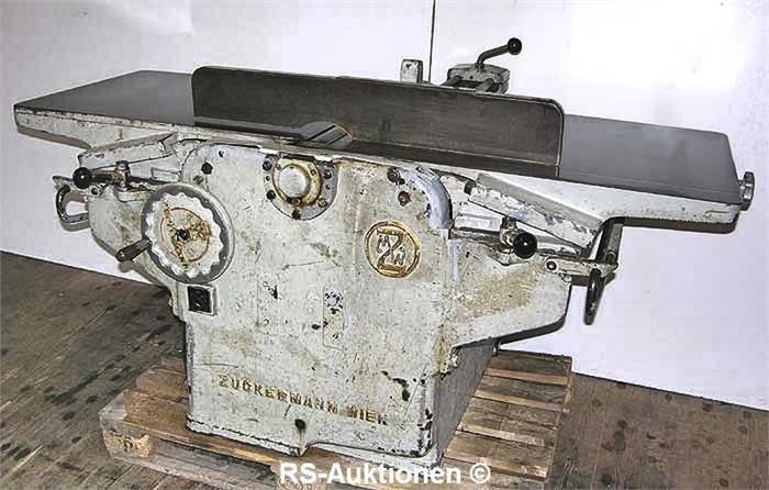 Kombi-Abricht- und Dickenhobelmaschine ZUCKERMANN ADH-610
