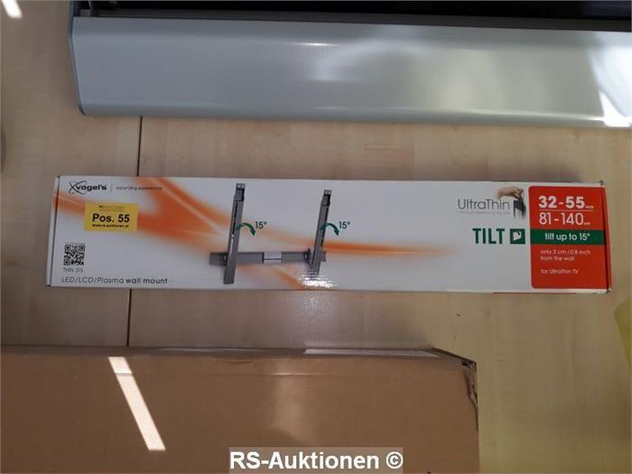 """1 Stk. Wandhalterung für Fernseher VOGELS Typ THIN315, 32-55"""", neigbar"""