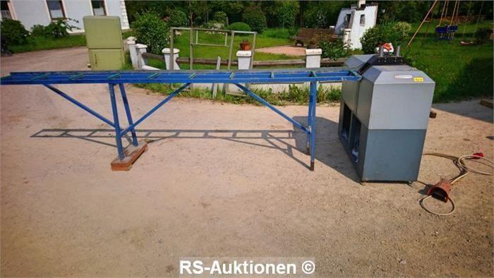 Automatische Glasleistensäge SCHÜRING GZS 45, Bj: 1990, 380 V, 2,7 kW, 6,5 bar