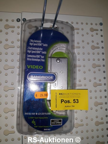 1 шт. 2fach automatischer High-Speed-HDMI-Переключатель BANDRIDGE