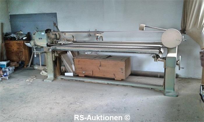 Bandschleifmaschine HÖFER BSM, 2500 x 800 mm
