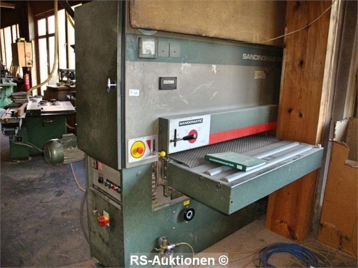 Breitbandschleifmaschine SANDINGMASTER KCSB-1100, Bj: 1991