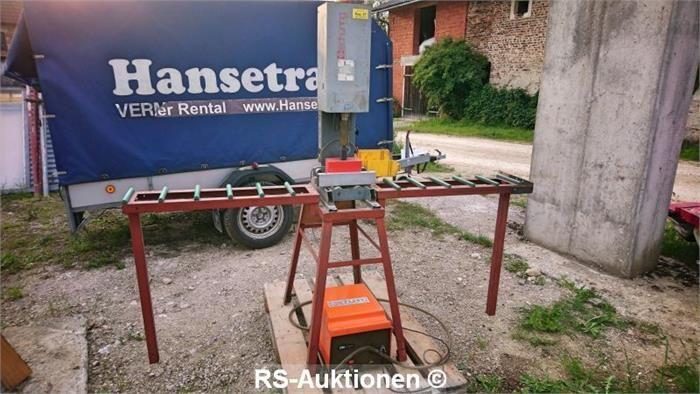 Verstärkungsschrauber mit integrierter Schraubenzuführung SCHÜRING VSM 87/I