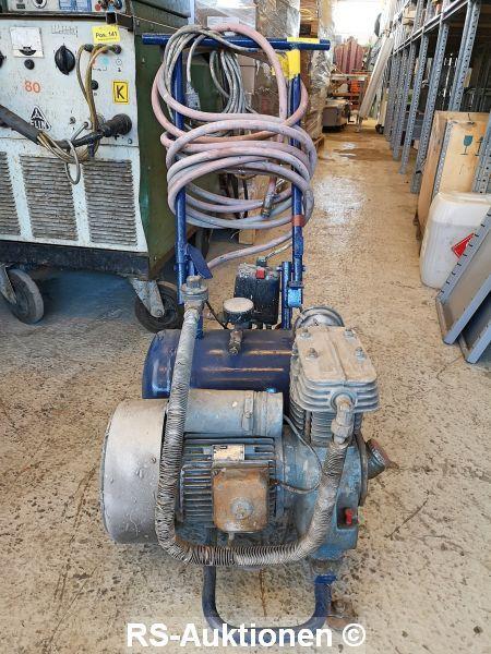 Montagekompressor BAUKNECHT, fahrbar