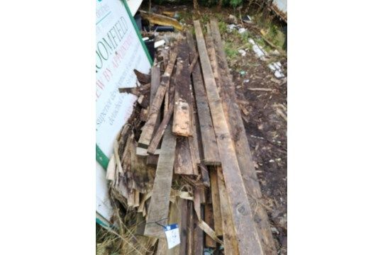 Holzmenge, wie gelottet
