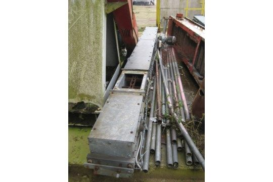 Grespan 35/25 Chain & amp; Flight Conveyor, 250mm breit