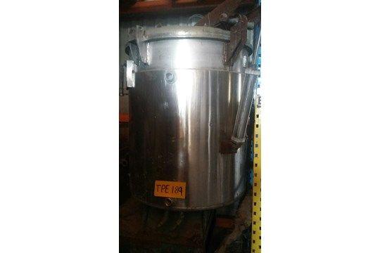 Kady C1000 Wet Mill 1000 Lts Wet Mill, mit Edelstahlmantel, 150 mm Bodenhomogenisator
