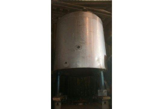 John Dore Edelstahl 2000L Tank, mit leichten