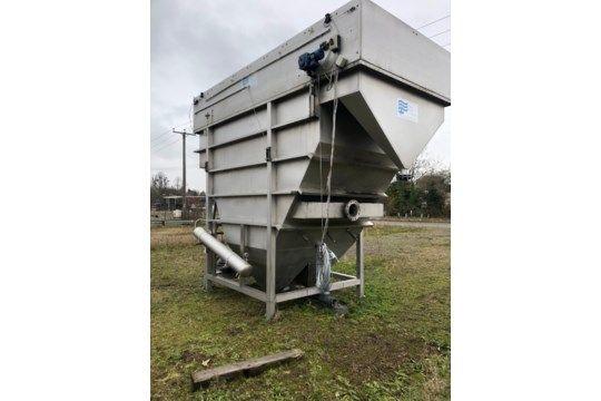 Abwasseranlage von Nijhuis, die 27 cm Wasser verarbeiten kann