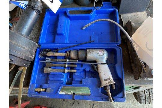 Sealey SA12 / S.V3 Pneumatischer Meißel mit Tragetasche