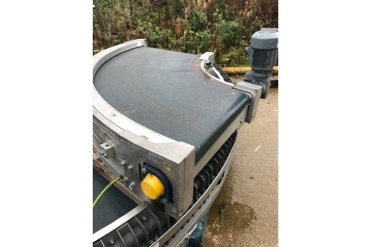 Transnorm TS 1600-105 90-Grad-Förderband, al