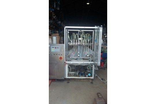 BM Eight Head Inline 0.5L Füller pneumatisch / elektr