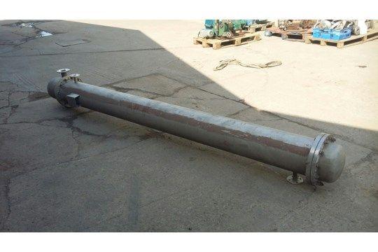 Edelstahl 316 Shell & amp; Röhrenwärmetauscher wi
