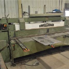 Rushworth 2.5m x 6mm GUILLOTINE SHEAR, serial no. 4555/10