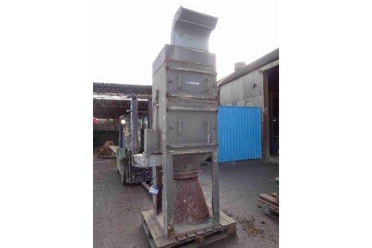 DCE Unimaster Staubfilter-Auffangeinheit, Werksnr