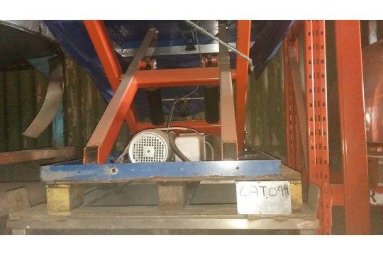 Elmo 1500kg Scherenbühne, hydraulisch / elektrisch