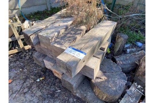 Verschiedene Holzbaulks, bis ca. 1,05 mx 200 mm