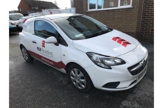 Vauxhall Corsa 1.3 CDTi Van, Registriernr. WD18 NYS, Datum der Erstregistrierung 26/06/18, TÜV-Test