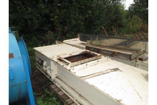 Guttridge Twin Chain Conveyor, mit einer Arbeitsbreite