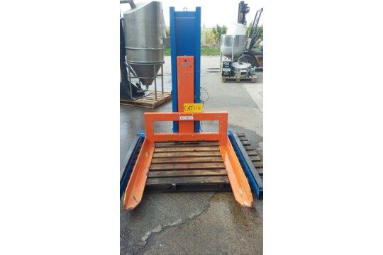 Edmo TSE Hi-Lift 1000 kg Palette, dreiphasige Hydra