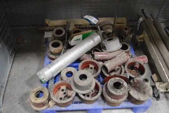 Mühle Ersatzteile, auf Palette (Hinweis - diese Menge ist situiert