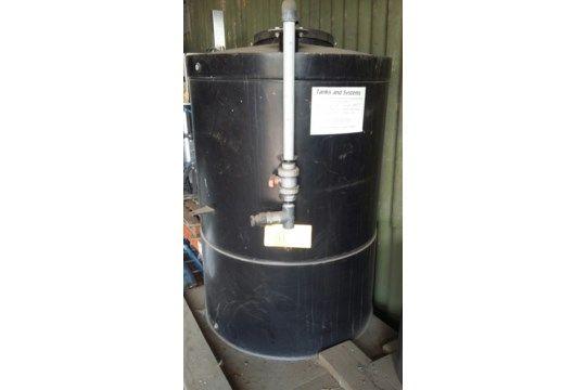 Geschlossener 1500L LDPE-Kunststofftank mit Deckel