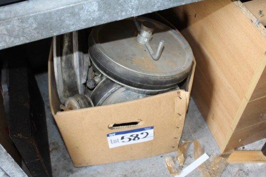 Verschiedene Rohrbündel, wie im Karton angegeben