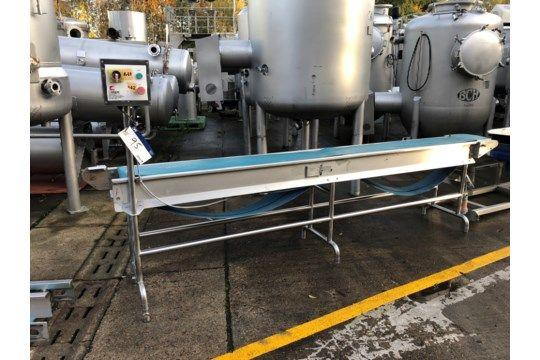 Cougar Conveyor, Abmessungen ca. 3,3 mx 260 mm b