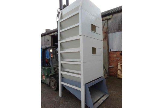 Turner No.3 Vertikaler Pelletkühler, mit integriertem