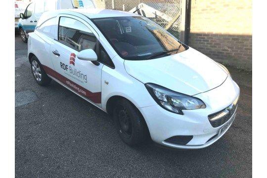 Vauxhall Corsa 1.3 CDTi Van, Registriernr. WD18 NYX, Datum der Erstregistrierung 26/06/18, TÜV-Test