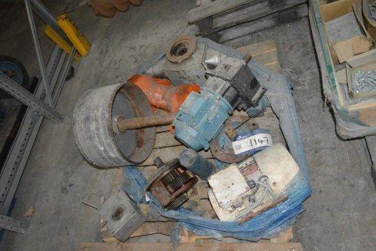 Assorted Equipment, on pallet (beachten Sie - dieses Los ist