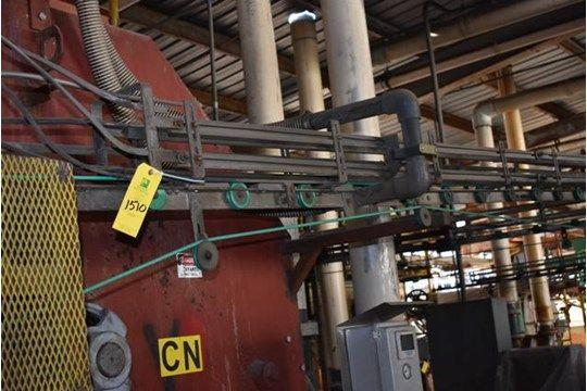 Tri-Can Motorisierte Dosenförderer, 20 ft. Länge, Linie CN, RIGGING FEE $ 300