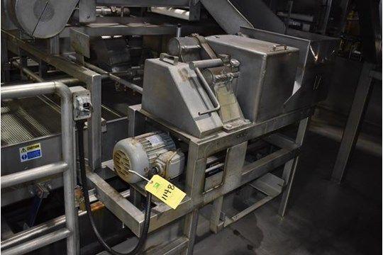 Urschel Modell G Dicer, 2 PS Motor, 230/460 Volt, SN 1755, Rigging Gebühr: $ 500