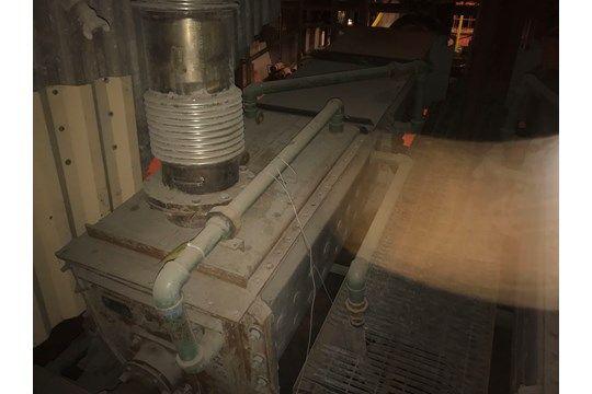 Ash Slurry Auger, Denver Equipment, Jahr 1993, Seriennummer # 5195456-002E