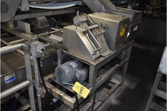 Urschel Modell G Dicer, 2 PS Motor, 230/460 Volt, SN N / A, Rigginggebühr: $ 500