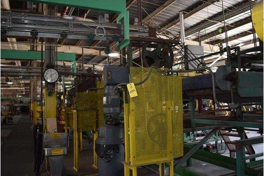 Tri-Can Motorisierter Dosenförderer, Ca. 50 ft. Länge, Linie CG, RIGGING FEE $ 600