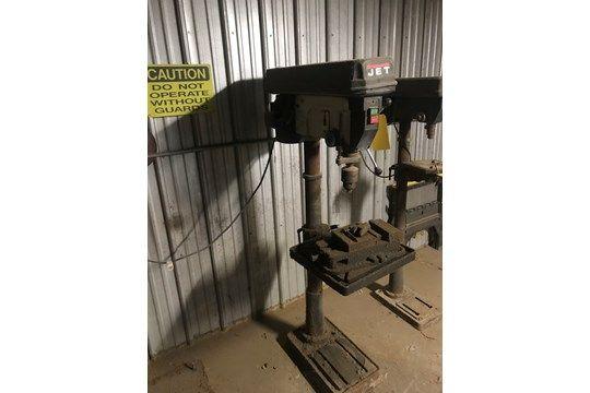 JET Drill Press, Seriennummer 0100272, Modellnummer JDP-20MF