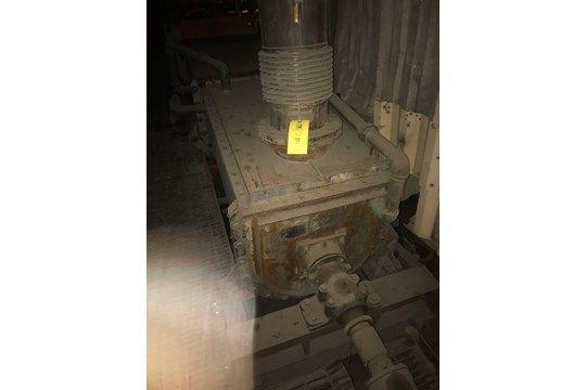 Ash Slurry Auger, Denver Equipment, Jahr 1993, Seriennummer # 5195456-001E